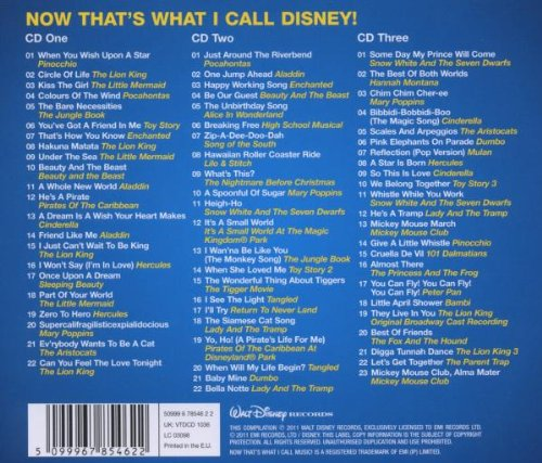 Now That's What I Call Disney / Various by Emi Import