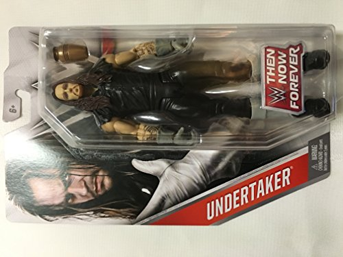 Mattel WWE, Basic Series, 2016 Then Now Forever, Undertaker Action Figure]()