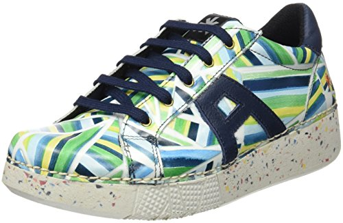 ART 1135 Fantasy I Express, Zapatos de Cordones Derby Unisex Adulto Blanco (Stripes)