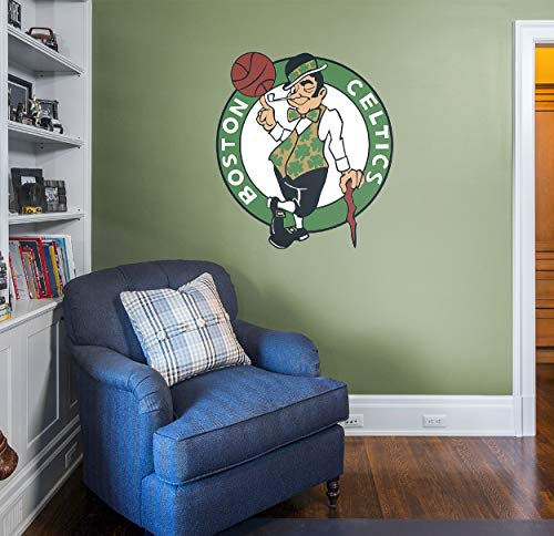 Fathead NBA Boston Celtics Boston Celtics: Logo - Giant Officially Licensed NBA Removable Wall Decal