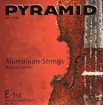 A CUERDA VIOLONCELLO 1/ª Medium Cello 3//4 Una Unidad Aluminio Aluminium 170101 Pyramid La