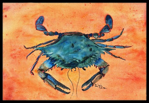 Carolines-Treasures-8097-JMAT-Crab-Indoor-or-Outdoor-Doormat-24-x-36-Multicolor