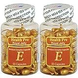 Vitamin E Skin Oil Royal Jelly, 90 Softgels (Pack of 2)