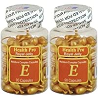 NU-Health Vitamin E Skin Oil Royal Jelly, 90 Softgels (Pack of 2)