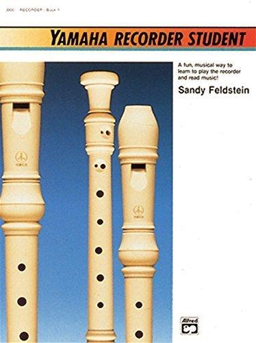 Yamaha Recorder Student (Yamaha Individual Instruction) by Sandy Feldstein (1988-07-01)