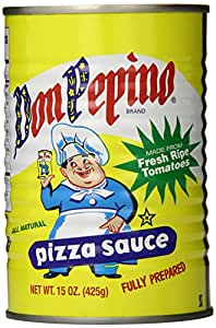 Don Pepino Pizza Sauce, 15 Ounce (Pack of 12)