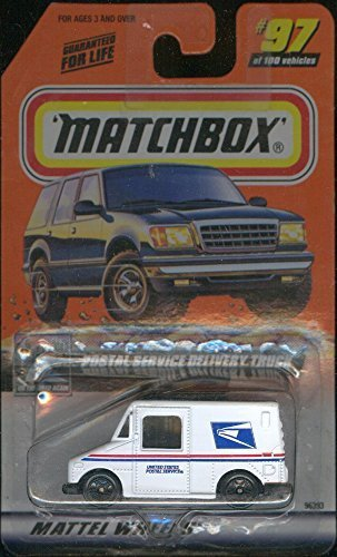 Postal Service Truck (Matchbox 1998-97 Postal Service Delivery Truck 1:64 Scale)