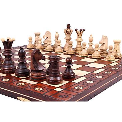 The Jarilo   Unique Wood Chess Set, Pieces, Chessboard U0026 Storage
