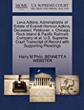 Leva Adkins, Administratrix of Estate of Everett Harmon Adkins, Deceased, Petitioner, V. Chicago, Rock Island and Pacific Railroad Company et Al. U. S. S, Harry M. Philo and Bennett A. WEBSTER, 1270653954