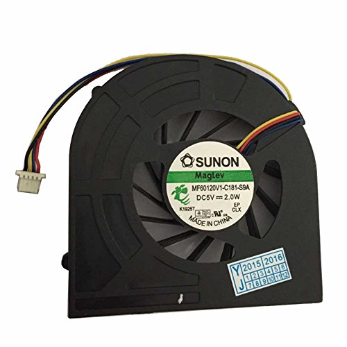 CPU Cooling Fan for HP ProBook 4520s 4525s 4720S Series New Notebook Replacement Accessories DC5V 2.0W P//N GC057514VH-A MF60120V1-Q020-S9A