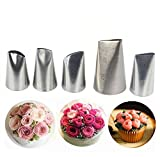 Best Perfect Tool For Cakes - Joyeee 5 Pieces Piping Nozzles Cake Decorating Tips Review