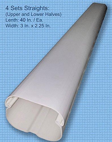 Decorative Pvc Line Cover Kit For Mini Split Air
