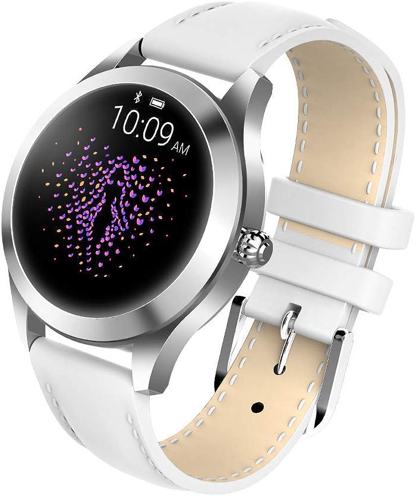 Watch Reloj Inteligente de Moda para Mujer Pulsera Encantadora Monitor de Ritmo cardíaco Monitoreo del sueño Smartwatch Connect iOS Android PK S3 Band