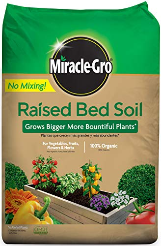 Miracle-Gro 73959430 Raised Bed Soil