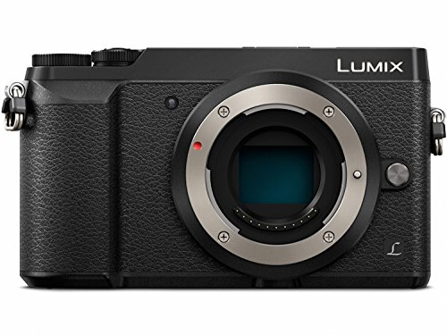 PANASONIC LUMIX GX85 Body 4K Mirrorless Camera, 16 Megapixles, 3 Inch Tilting Touch LCD, DMC-GX85KBODY (USA BLACK)