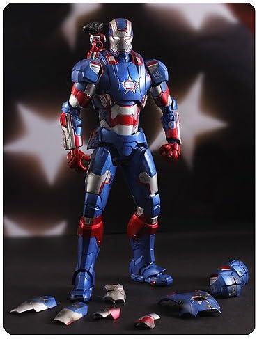 IRON PATRIOT 1//12 Iron Man Play Imaginative Super Alloy Diecast Action Figure US