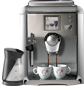 Gaggia 90951 Platinum Vision Automatic Espresso Machine with Milk Island, Platinum