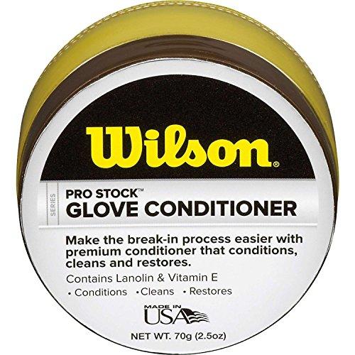 60 Gloves (Wilson Pro-Stock Glove Conditioner (60g))