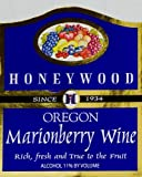 NV Honeywood Winery Marionberry Fruit Wine 750 mL