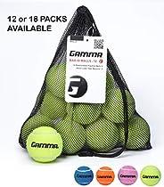 Gamma Saco de bolas de tênis sem pressão – Bolsa de malha resistente e reutilizável com cordão para facilitar