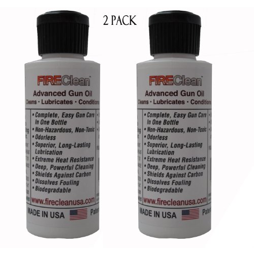 New FIREClean Anti-Fouling Gun Conditioning Oil 2 Pack