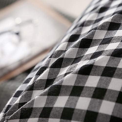 QQDJ Coton Lavé Coussin De Lit Canapé Grand Backrest,Double Oreiller Long Oreiller De Lit,Tête Sac Souple Amovible Coussin C 100x50cm(39x20inch)