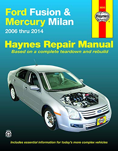 Ford Fusion & Mercury Milan Haynes Repair Manual 2006-2014 (21 Fusion)