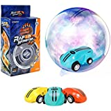 Hobby Leopard Stunt Car Mini Cool Toys, Racing Car with Rechargeable Battery and 360 Degree Spinning with Real Taillights for Age 3+ Kids.(Assorted Colors 1pcs)
