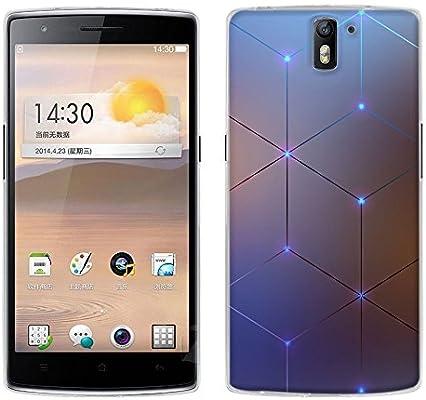 Funda OnePlus One, Fubaoda [diamante elettromagnetica] Carcasa [Ultra Hybrid] Tecnología de amortiguación de aire y protección híbrida contra caídas ...