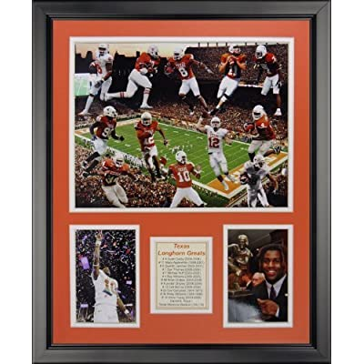 """Legends Never Die Texas Longhorns All-Time Greats Framed Photo Collage, 16"""" x 20"""" by Legends Never Die"""