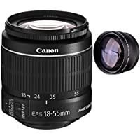 Canon 18-55mm IS STM Lens (WHITE BOX) + High Definition Telephoto Auxiliary Lens