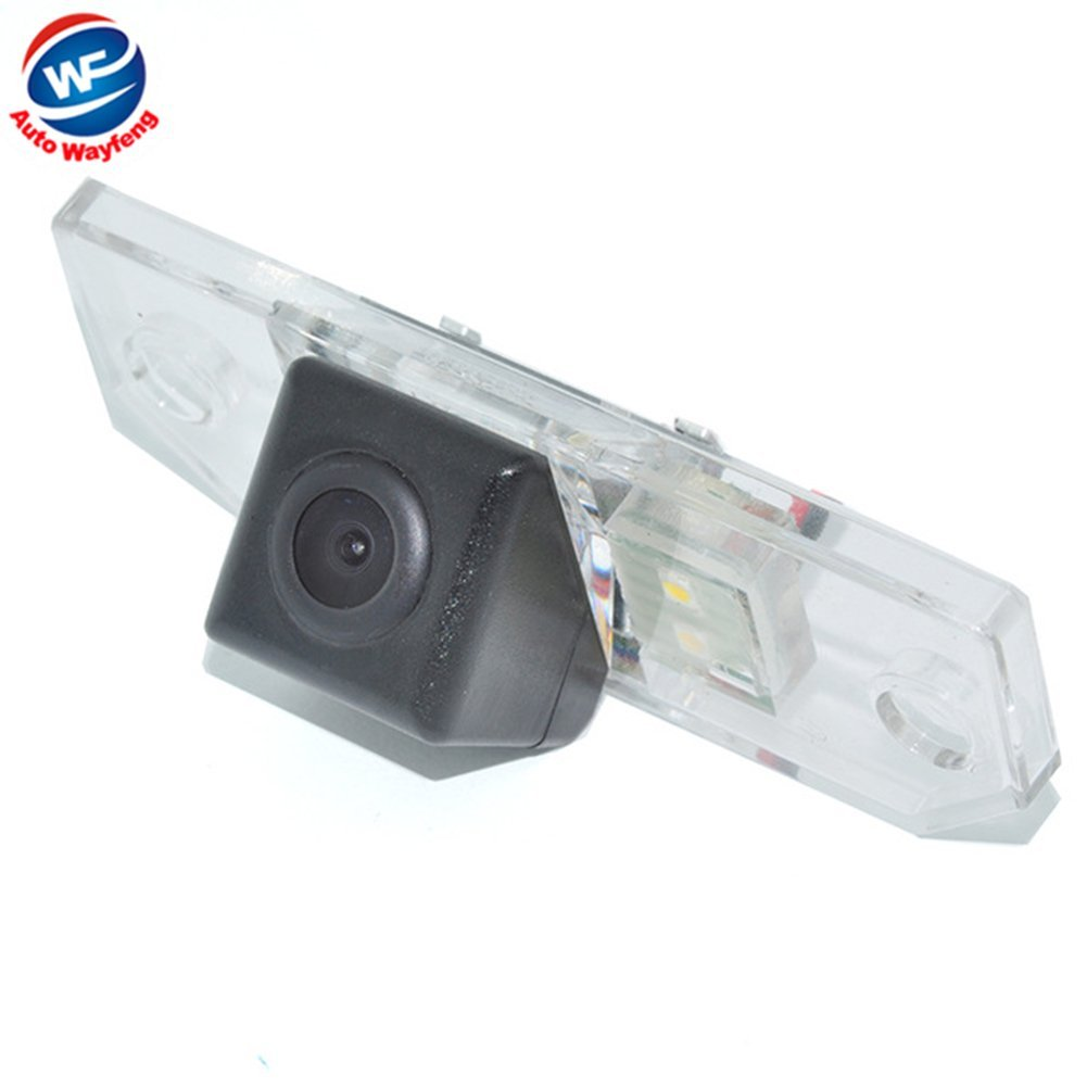 Auto Wayfeng Promotion spé ciale Vue Arriè re de Voiture Inverse Camé ra de recul Rearview Parking pour Ford Focus (3C) Mondeo (2000-2007) C-Max (2007-2009)