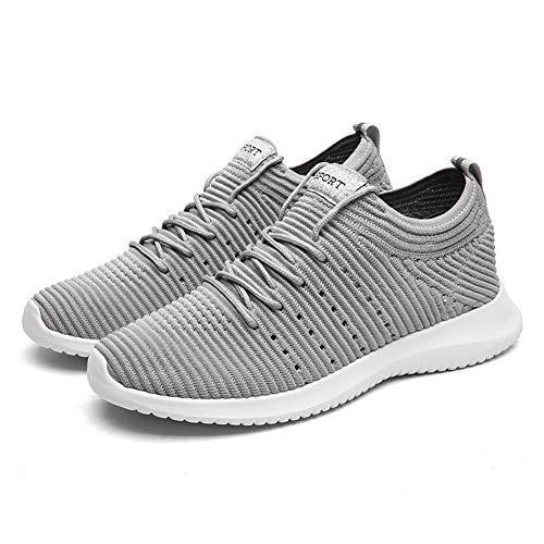 44 Gris Chaussure Femme Sport Fitness Gym Outdoor Sneakers Course Multisports 36 Baskets Mode Homme TORISKY de gZRqq6