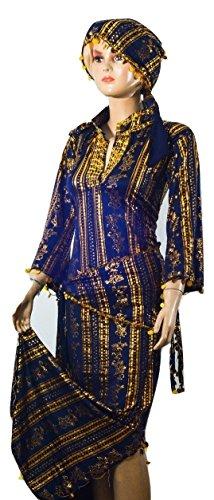 Buy belly dance saidi dress - 2