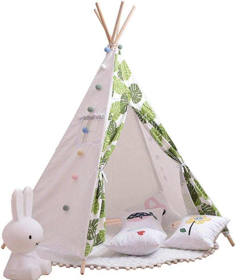 キッズテント 子供折り畳み式テントプレイテント耐久性のある赤ちゃん幼児テント屋内と屋外で遊ぶ赤ちゃん 子供用テント室内 誕生日 キッズテント 入園祝い 入学祝いに最適 (Color : White, Size : 110x110x170cm)