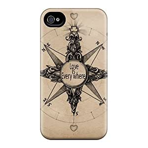 New Arrival Love Is Everywhere LomRwFo6684VcwNl Case Cover/ 4/4s Iphone Case