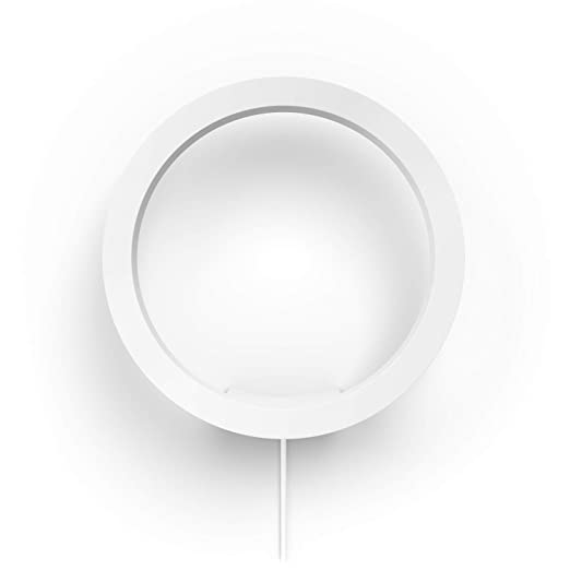 e2f1a3a62505 Philips Hue White and Color Ambiance LED Wandleuchte Sana, dimmbar,  steuerbar via App, kompatibel mit Amazon Alexa, weiß
