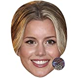 Celebrity Cutouts Caggie Dunlop Big Head. Larger Than Life mask.