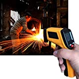 Non-Contact LCD Display IR Laser Infrared Digital Temperature Meter Sensor Thermometer Gun With Data Holding Function