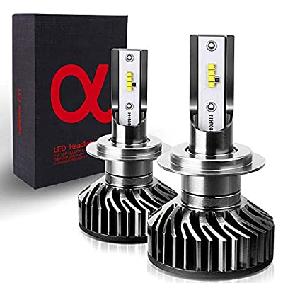 H11 (H9, H8) ZES-LED Headlight Bulbs All-in-One Conversion Kit - 9,200Lm 6000K Cool White: Automotive