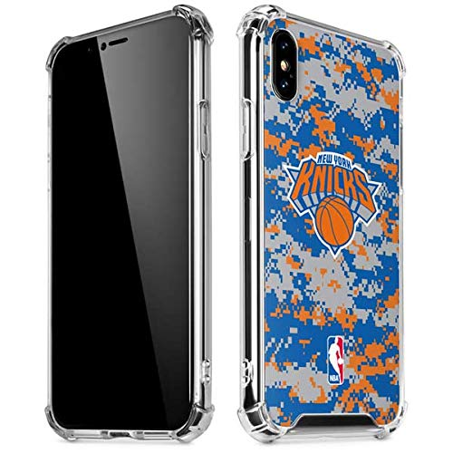 e6915cf0 Image Unavailable. Image not available for. Color: Skinit New York Knicks  Digi Camo iPhone XR Clear Case - Officially Licensed NBA ...
