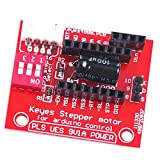 Dovewill 1 Piece New Driver Module Stepper Motor Driver Control Extension Shield Board For A4988/DRV8825 Shield Contoller Kit