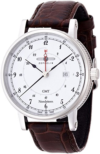 ZEPPELIN watch Nordstern White 75461 Men's [regular imported goods]