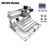 Best mini metal milling machine - DIY CNC Router Engraving Kit, Working Area 30x18x4.5cm Review