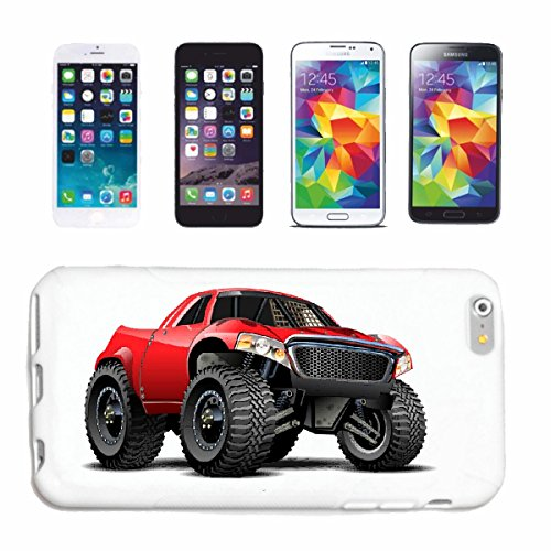 "cas de téléphone iPhone 7+ Plus ""OFF ROAD 4X4 MONSTER TRUCK 4 × 4 LANDROVER BUGGY AUTOCROSS Stockcar RACE"" Hard Case Cover Téléphone Covers Smart Cover pour Apple iPhone en blanc"