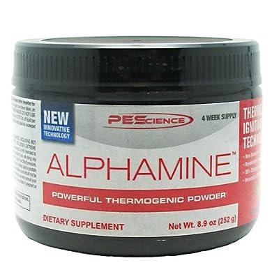 PEScience: Alphamine - Powerful Thermogenic Powder (Appletini)