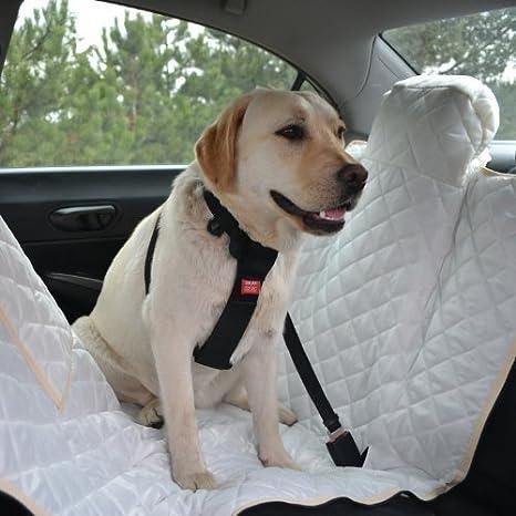 tierlando® Arnés de coche, Cubierta protectora de coche, Manta ...