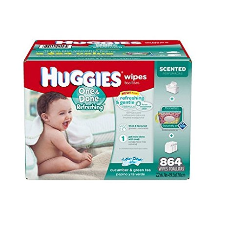 Huggies Done Refreshing Baby Wipes