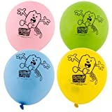 "Wubbzy 12"" Printed Latex Balloons Asst. (8 count)"
