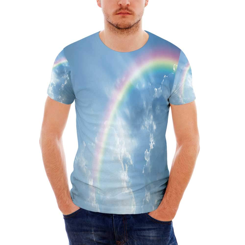 Outer Space Fashionable T Shirt,for Men,S